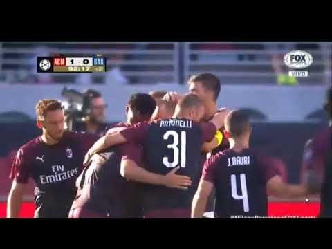 AC Milan 1 vs 0 Barcelona – André Silva