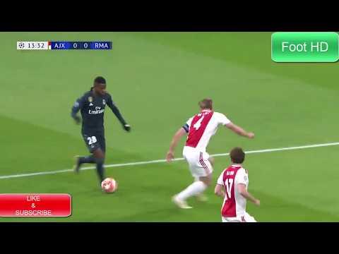 Real Madrid 2-1 Ajax Amsterdam Goals & Hghlights