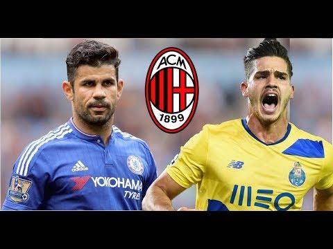 Diego Costa? A.C Milan news.
