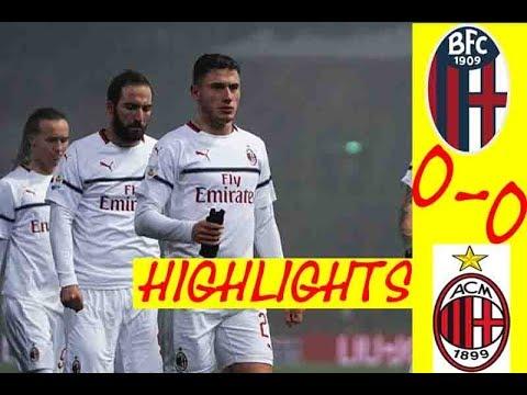 HIGHLIGHT BOLOGNA 0 -0 MILAN