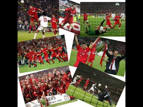 CL Final 2005 – Liverpool 3 v 3 AC Milan (aet, 3-2 on pen) -All The Goals – Radio Broadcast 25/05/05