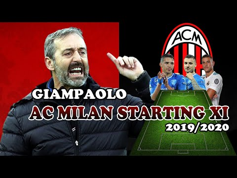 AC MILAN – Giampaolo Possible Line Up With Transfer 2019 Ft. Bennacer , Theo Hernandez , Krunic …