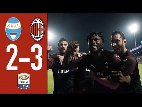 Highlights SPAL 2-3 AC Milan – Matchday 38 Serie A TIM 2018/19