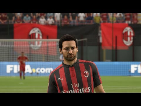 FIFA 19 AC Milan Player Faces
