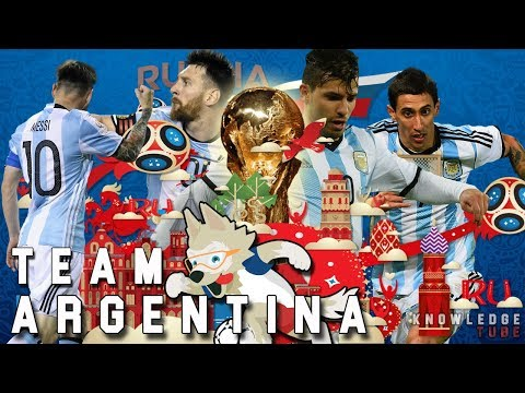 2018 FIFA World Cup : Argentina Final Squad for 2018 World Cup | 35 man Squad Argentina fifa 2018