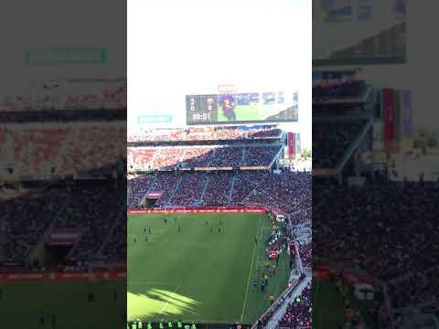Barca vs AC milan  8/04/18  Andre Silva scores late winner