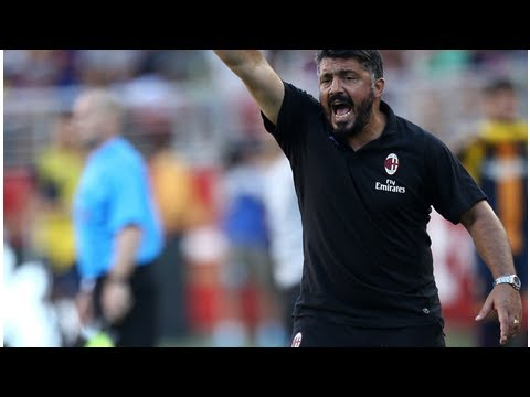 "Gattuso: ""The win over Barcelona was a step back in terms of quality but I like the spirit of the…"