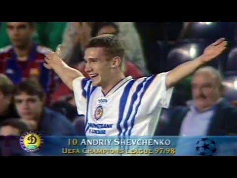 Andriy Shevchenko – Unforgettable Performance vs Barcelona 1997