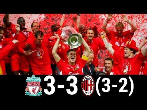 Liverpool vs AC Milan 3-3 (pen 3-2) UCL Final 2005 | Highlights and Goals
