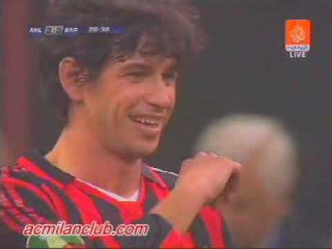 Season 2005/2006. AC Milan – FC Barcelona – 4:2 (highlights)