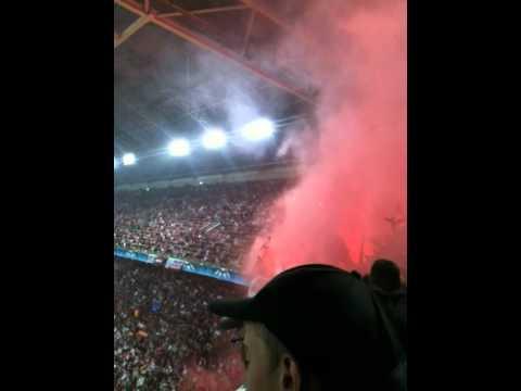 Ajax – AC Milan 28 sept. 2010 Bengaliska eldar