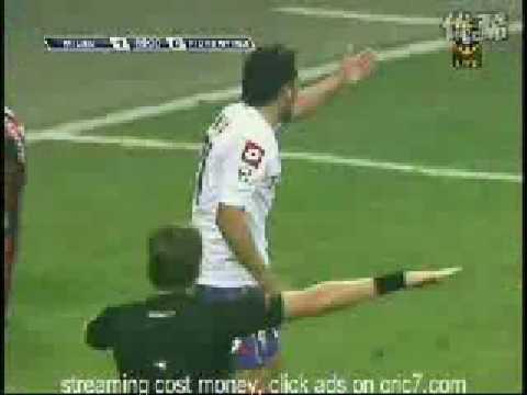AC Milan vs Fiorentina (1-0)Serie A 17.01.09