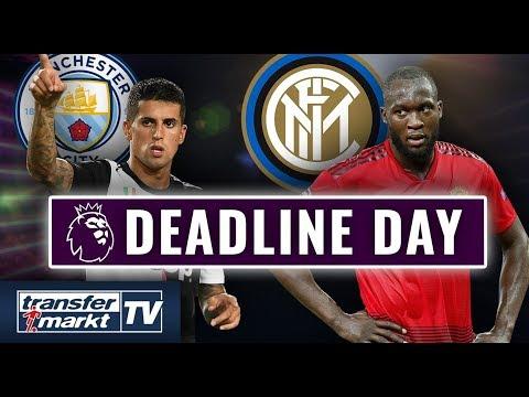Deadline Day-England: ManCity holt Cancelo – Lukaku schon in Mailand | TRANSFERMARKT