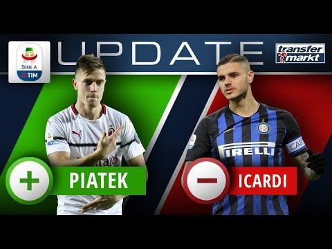 Marktwerte Serie A: Top-Gewinner Piatek – Großes Minus für Icardi | TRANSFERMARKT