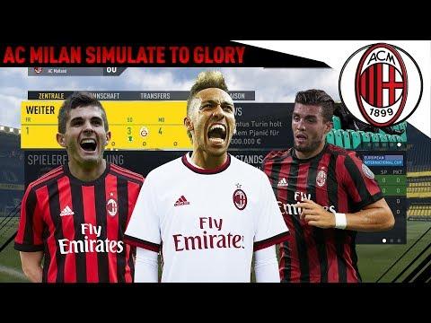 FIFA 17 AC MILAN SIMULATE TO GLORY – DIE ERSTEN TRANSFERS!!