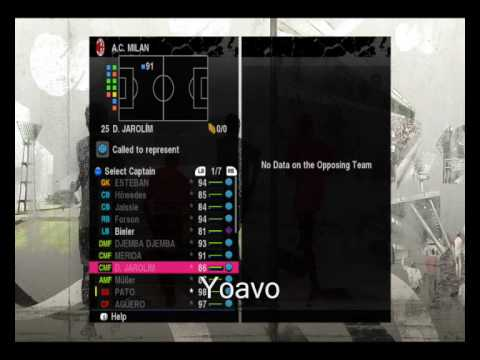 Pro Evolution Soccer 2010 – My Master Leauge A.C.Milan Team