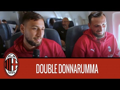 In-flight Entertainment Double Donnarumma
