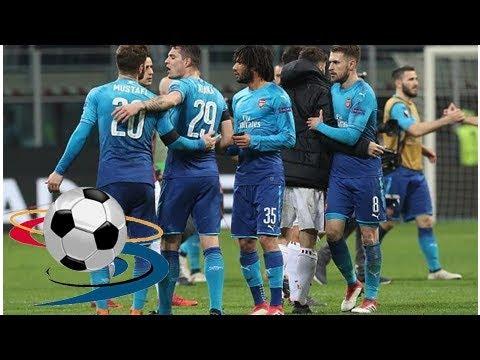 Twitter erupts as Arsenal beat AC Milan in away UEFA Europa League tie