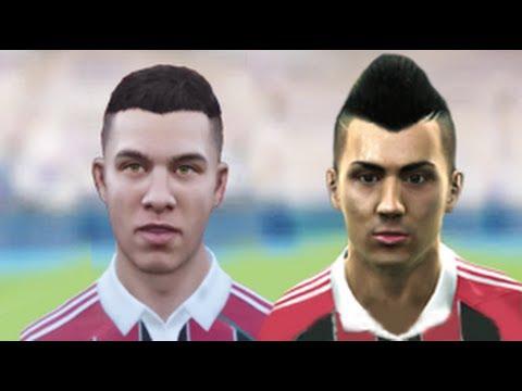 FIFA 13 v PES 13 Faces Head to Head [HD] part 2