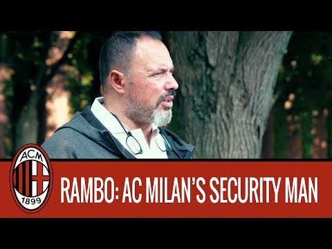 Giampaolo Bompiano, AC Milan's Security Man