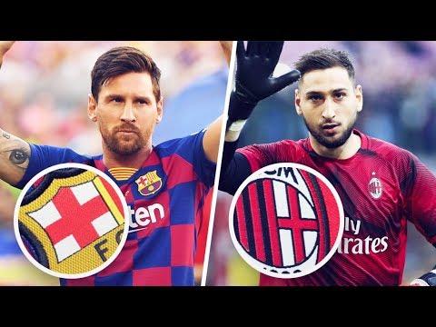 Pourquoi le Barça et le Milan AC ont-ils un drapeau de l'Angleterre sur leur logo ? | Oh My Goal