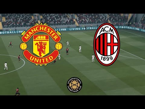 Manchester United vs AC Milan | International Champions Cup 3 August 2019 Gameplay