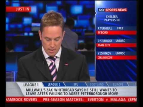 Pirlo Not Fot Sale -Chelsea-Milan-05.08.09 |Sky Sports News|