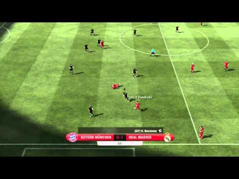 FIFA 12 H2H DIVISION 1 REAL MADRID VS BAYERN