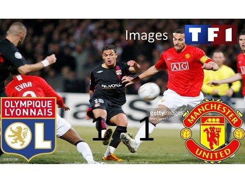 OL 1-1 Manchester United | 8ème de finale aller | Ligue des champions 2007/2008 | TF1/FR