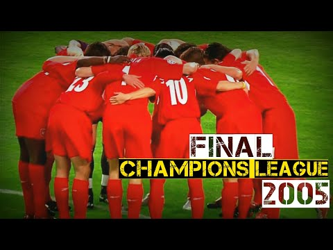 Liverpool vs AC Milan 3-3 (pen 3-2),Champions League 2005 Final,Istanbul,Flashback.