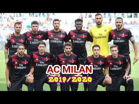 Daftar Pemain AC Milan Musim Kompetisi 2019/2020