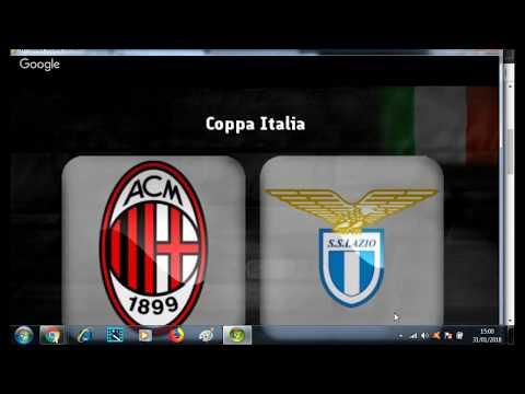 MILAN 0 VS LAZIO 0  EN VIVO COPA ITALIA / Manchester United 0 vs. Tottenham 2 PREMIER LEAGUE