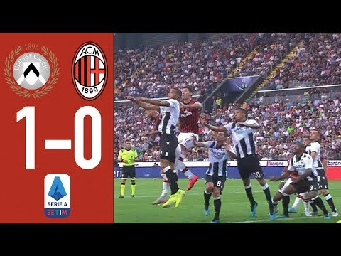 Highlights | Udinese 1-0 AC Milan | Matchday 1 Serie A TIM 2019/20