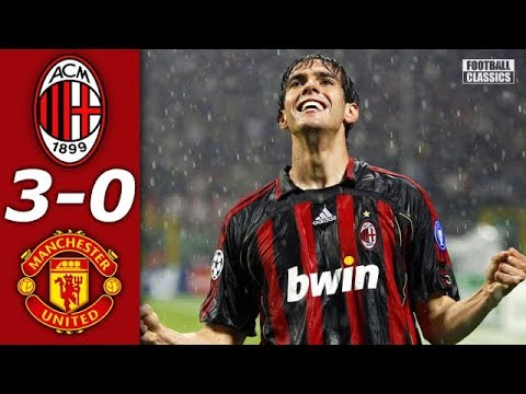 AC Milan vs Manchester United 3-0 – UCL 2006/2007 – Full Highlights ᴴᴰ