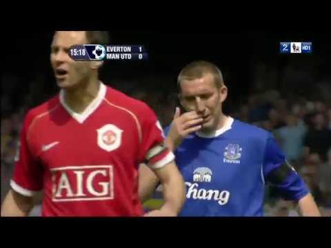 Everton vs Manchester United 28 04 2007    Full Match 720P