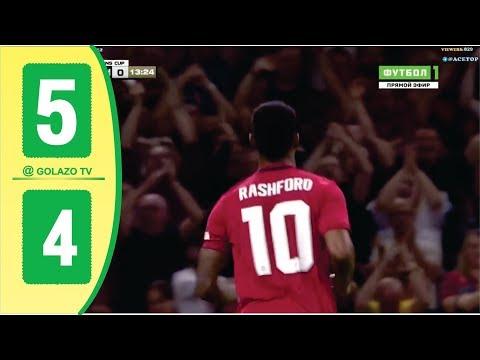 Man United vs Milan 2-2  Full Penalties 5-4  – ICC 2019
