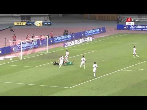 Niang Big Chance Real Madrid vs AC Milan 0-0 International Champions Cup 2015