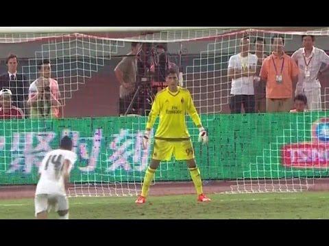 Real Madrid vs AC Milan 10-9 All Goals Penalty shootout 2015