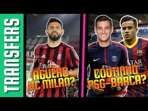 Sergio Agüero az AC Milanban? Coutinho: Barca vs Paris SG! | Tiki-Taka Transfers