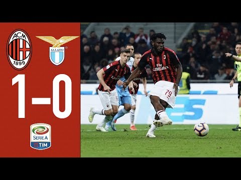 Highlights AC Milan 1-0 Lazio – Matchday 32 Serie A TIM 2018/19