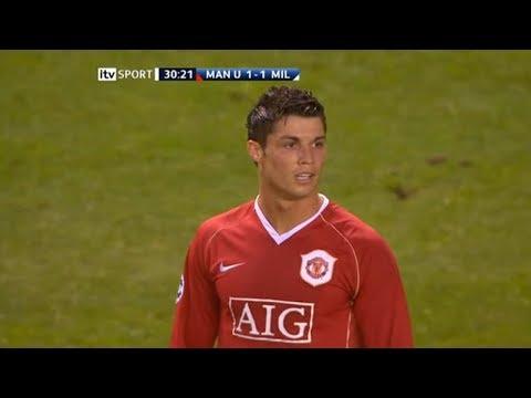 Cristiano Ronaldo Vs AC Milan Home (24/04/2007)