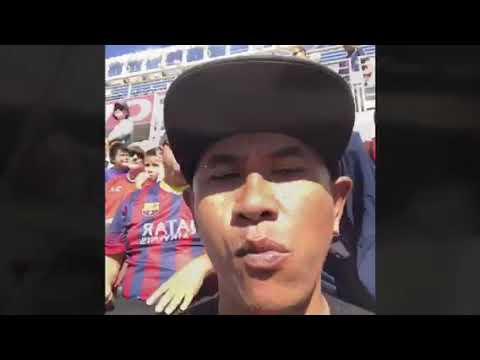 Barca vs AC Milan at Levi's stadium