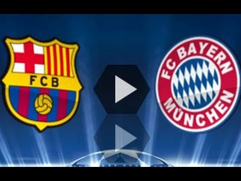 UEFA Champions League: PES 2013 Predicts Result FC Barcelona vs. Bayern Munich