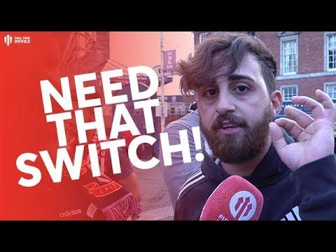 JUST NEED A SWITCHER! MAN UTD 2-2 AC MILAN FAN CAM