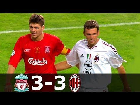 Liverpool vs AC Milan 3-3 (pen 3-2) – UCL 2005 Final