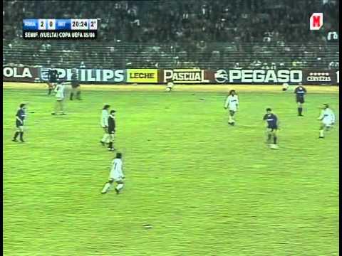 Real Madrid – Inter Milan. UEFA Cup-1985/86  (5-1)