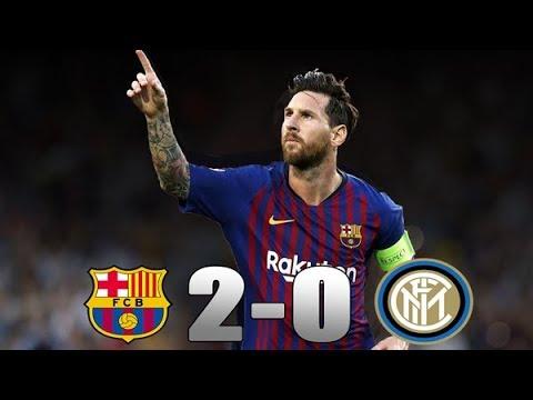 Barcelona vs Inter milan 2-0 Full Highlights 2019 HD