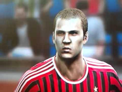 PES 2012 Man United & Ac Milan Faces