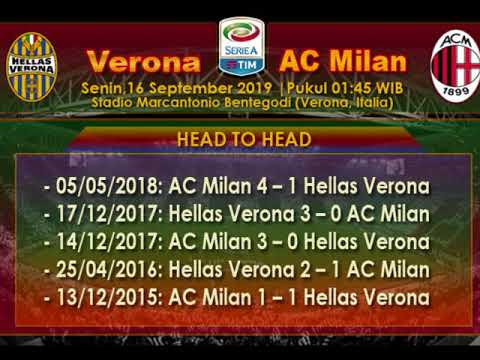 Prediksi Skor Hellas Verona vs AC Milan 16 September 2019