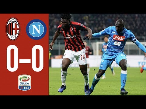 Highlights AC Milan 0-0 Napoli – Matchday 21 Serie A TIM 2018/19